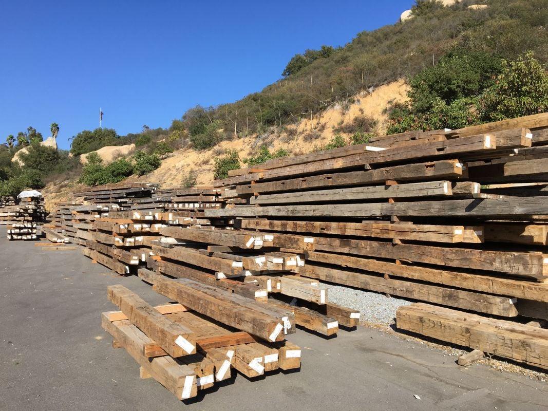"7ft Long Premium Vintage OakWoodworking /& Craft Lumber2/""x6/"" Reclaimed Wood"