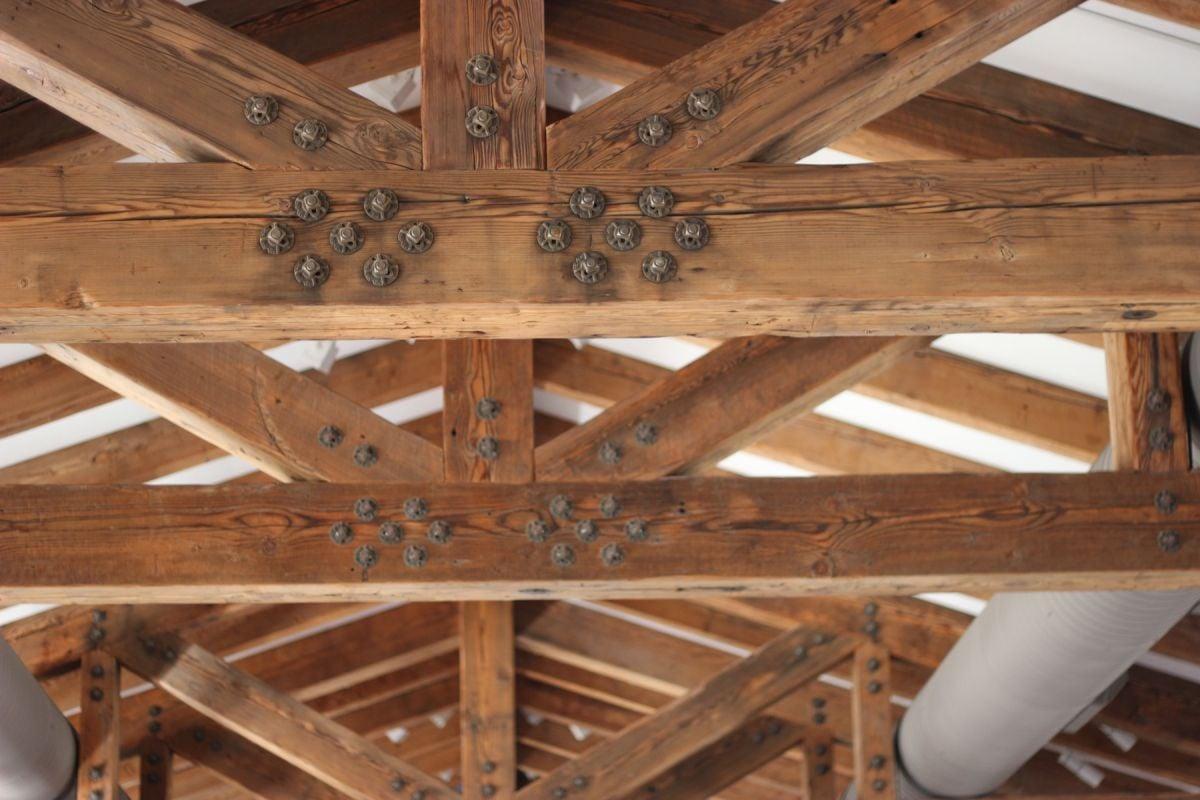 Prefab Trusses Vintage Timberworks