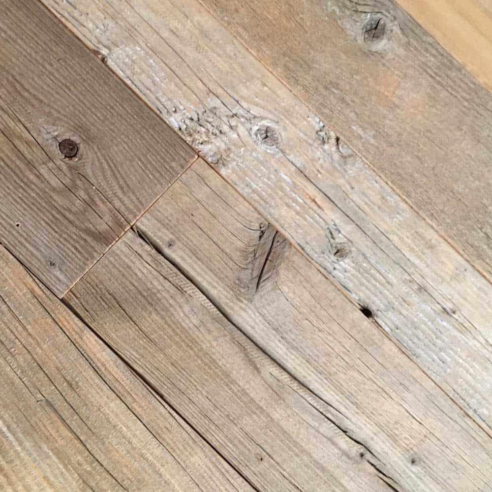 Driftwood Plank Edged