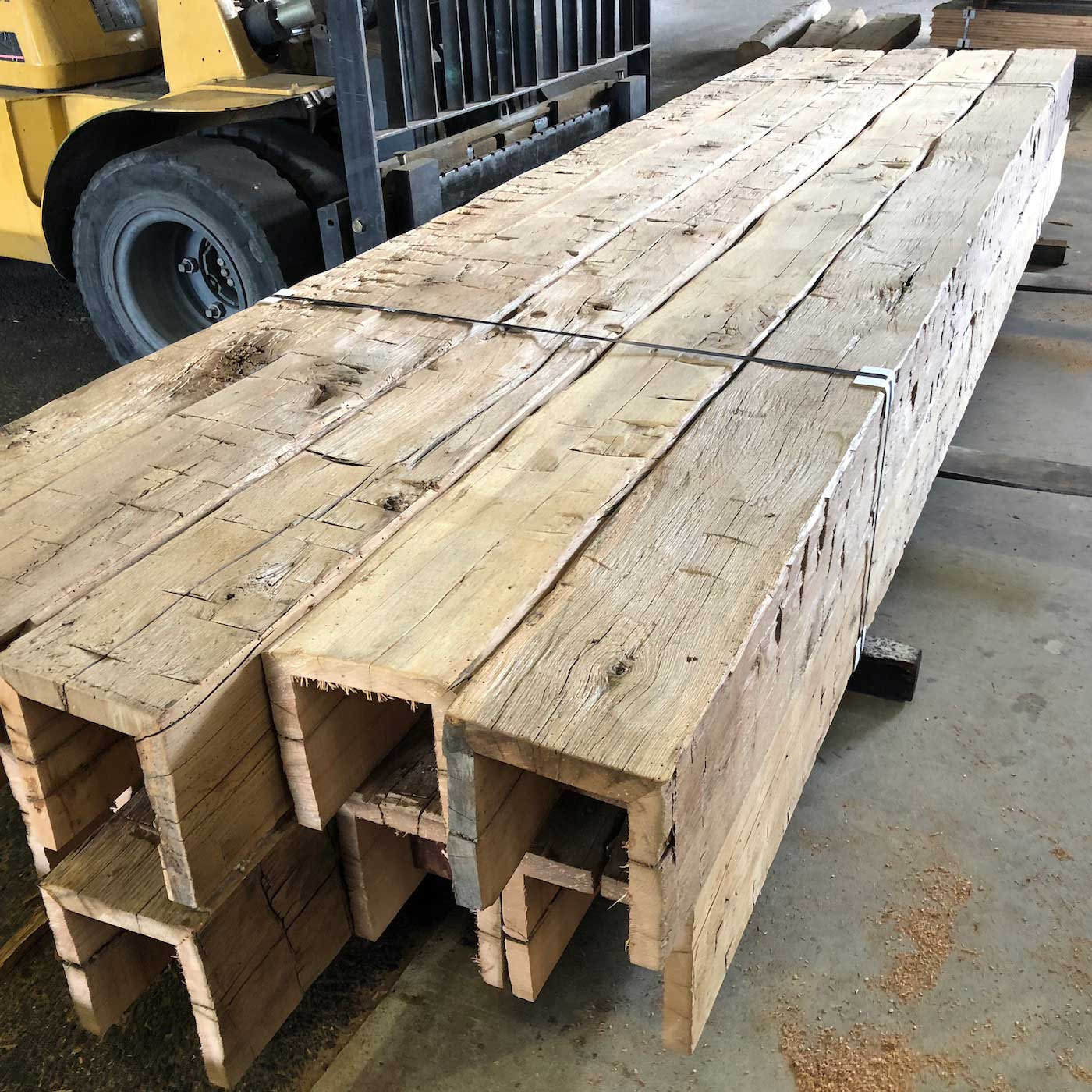 Hand Hewn Barn Timber Box Beams