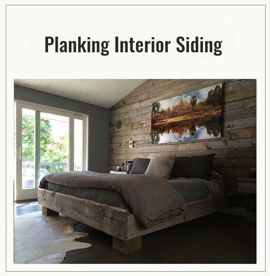 Planking Interior Siding