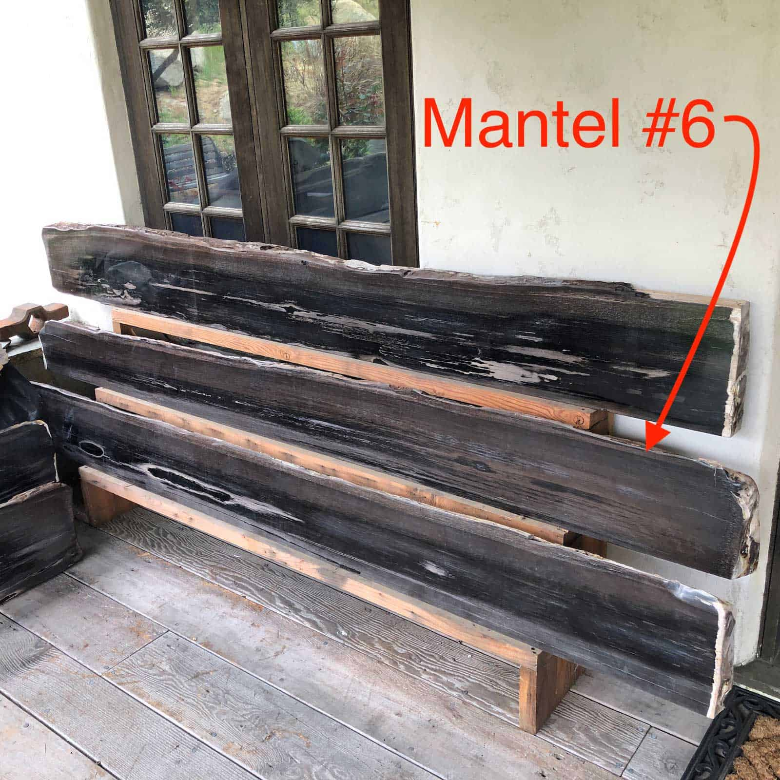 Petrified Wood Mantel 6