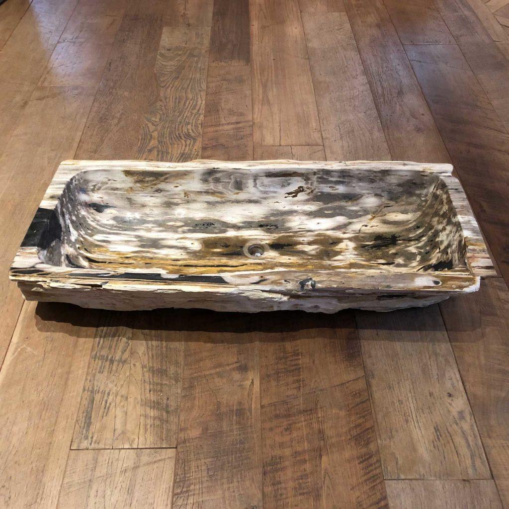 Petrified Wood Trough Sink 2 1024x1024 Opt 1