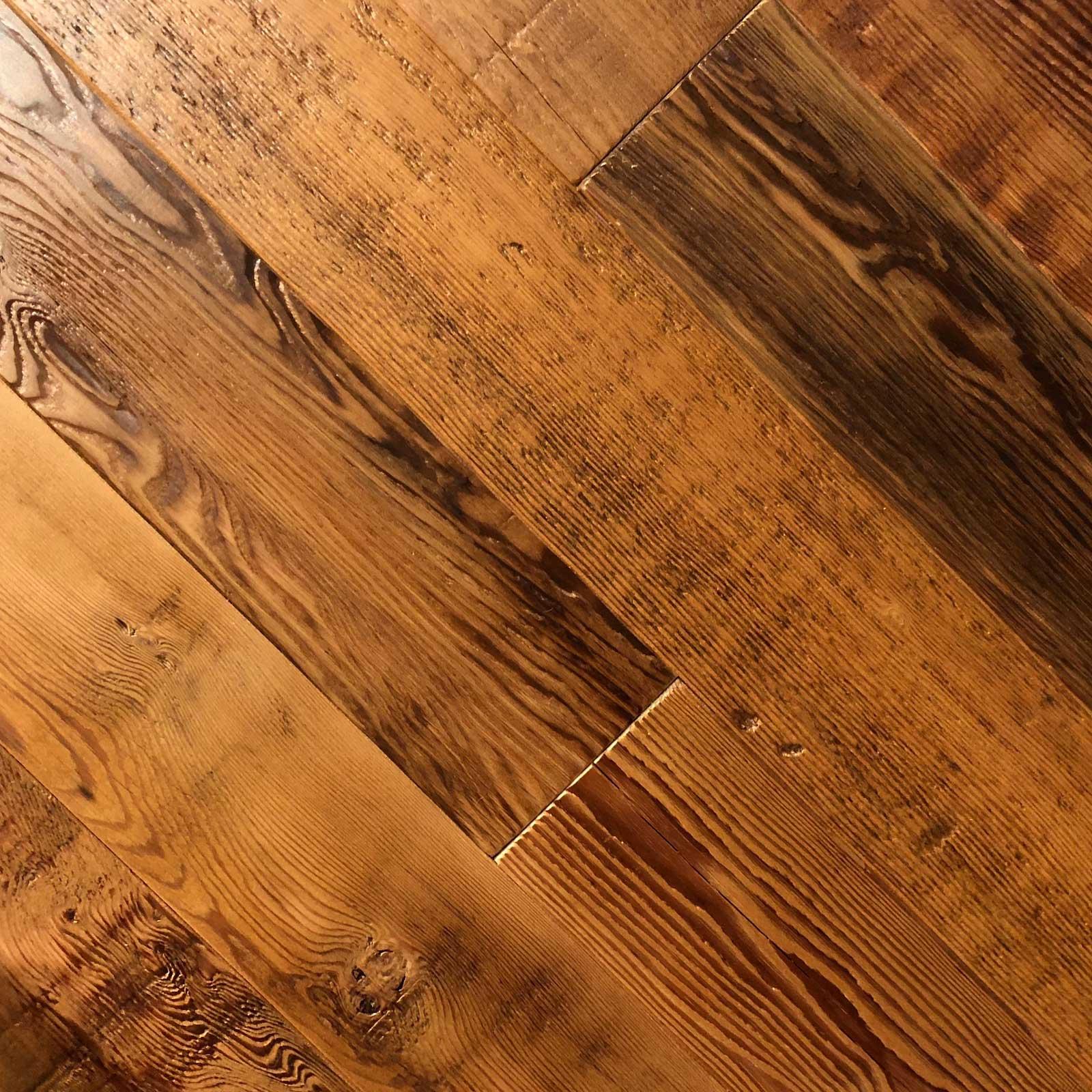 1 Semi Surfaced Douglas Fir Flooring