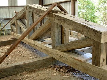 DSCN1641 1024x768 - Reclaimed Faux Beams vs. Solid Beams - Which ones are right for your job?