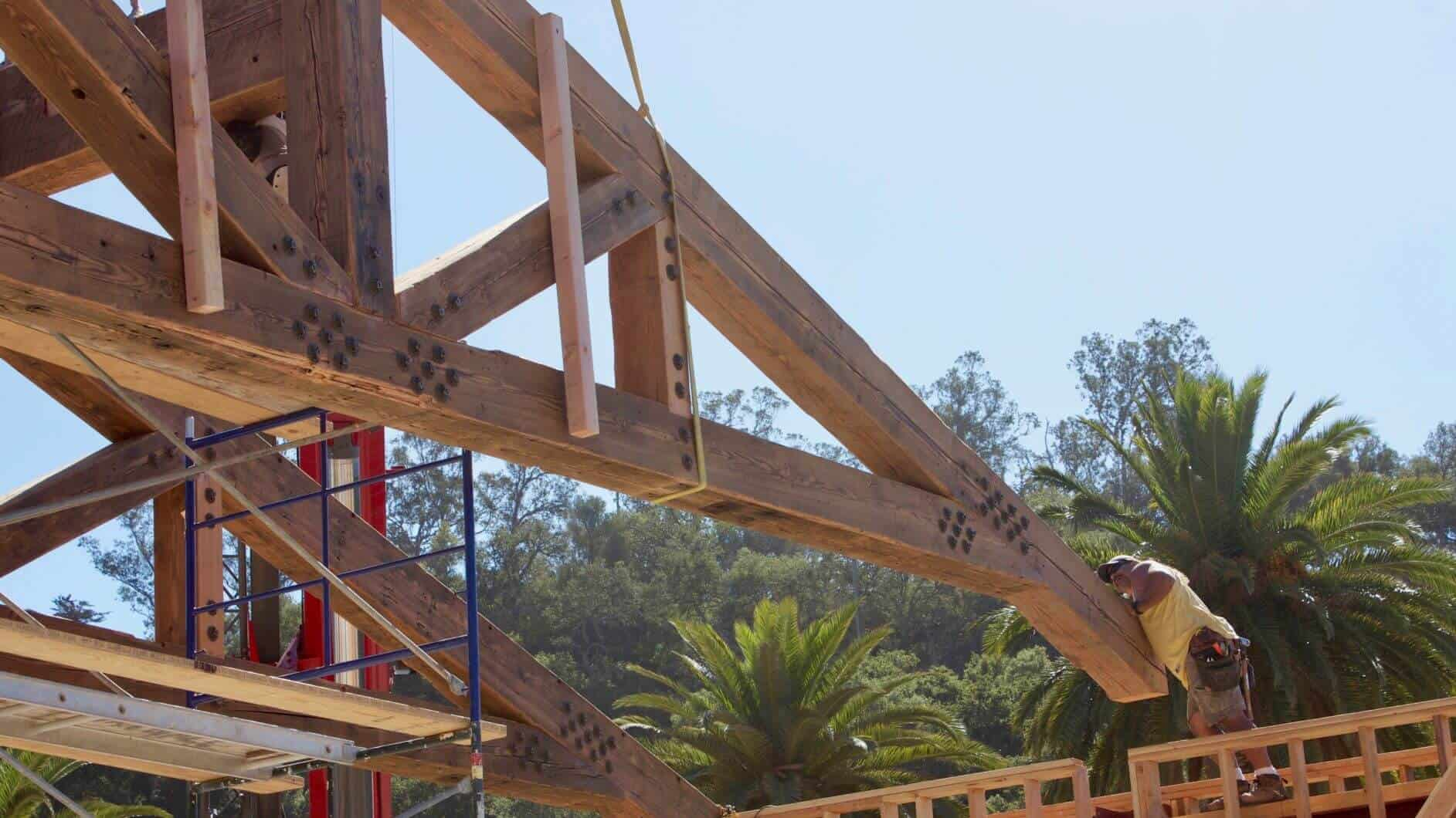 IMG 3470 1 - Reclaimed Faux Beams vs. Solid Beams - Which ones are right for your job?