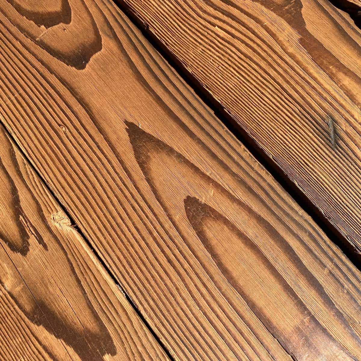 Original Smooth Douglas Fir Closeup - Reclaimed Planking Douglas Fir