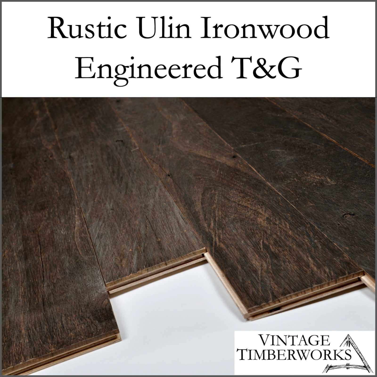 Rustic Ulin Ironwood Engineered Flooring - Ulin Ironwood