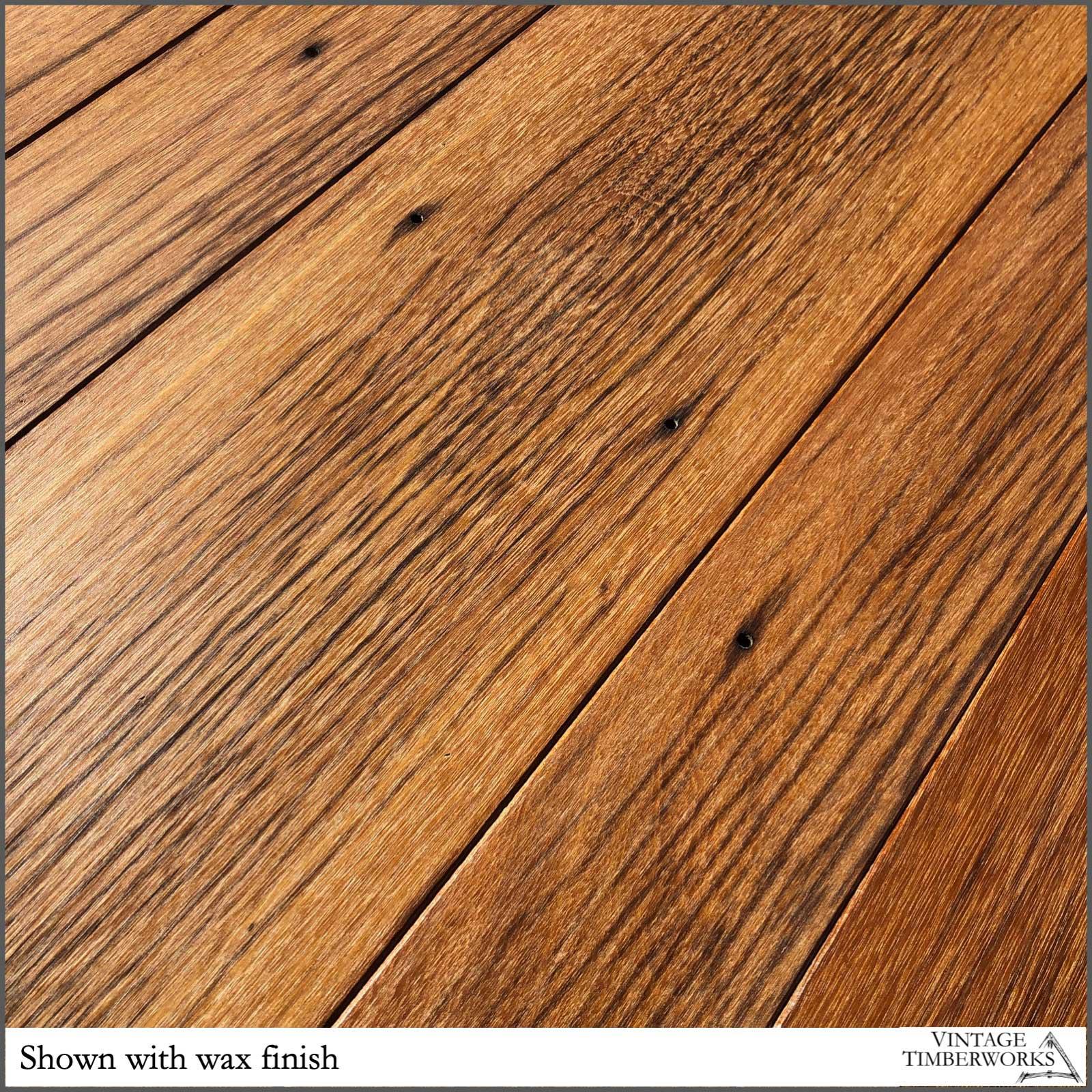 Smooth Ulin with wax finish - Ulin Ironwood