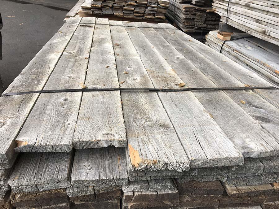 as is 1x6 gray board plank - Reclaimed Planking Gray Board
