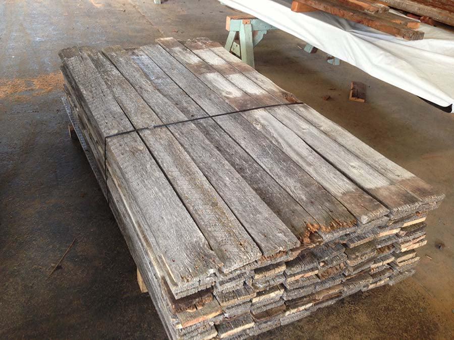 as is 1x6 gray board - Reclaimed Planking Gray Board