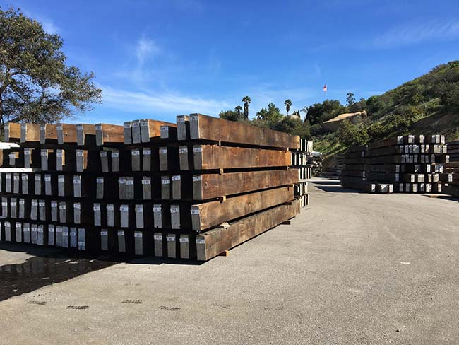 as is redwood beams02 - Vintage Reclaimed Redwood