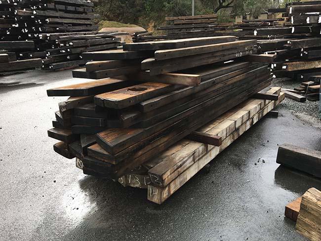 as is redwood beams03 - Vintage Reclaimed Redwood