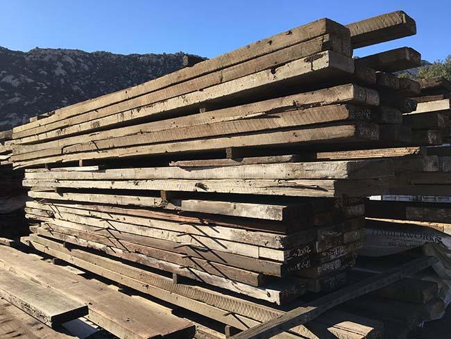 as is redwood beams04 - Vintage Reclaimed Redwood