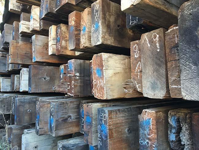 as is redwood beams05 - Vintage Reclaimed Redwood