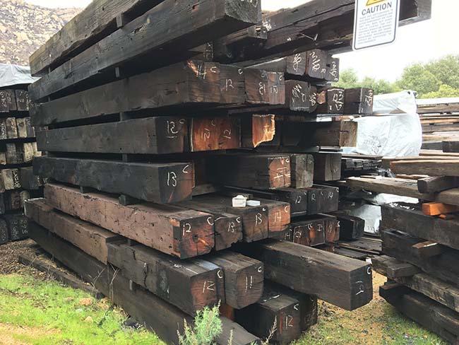 as is redwood beams06 - Vintage Reclaimed Redwood