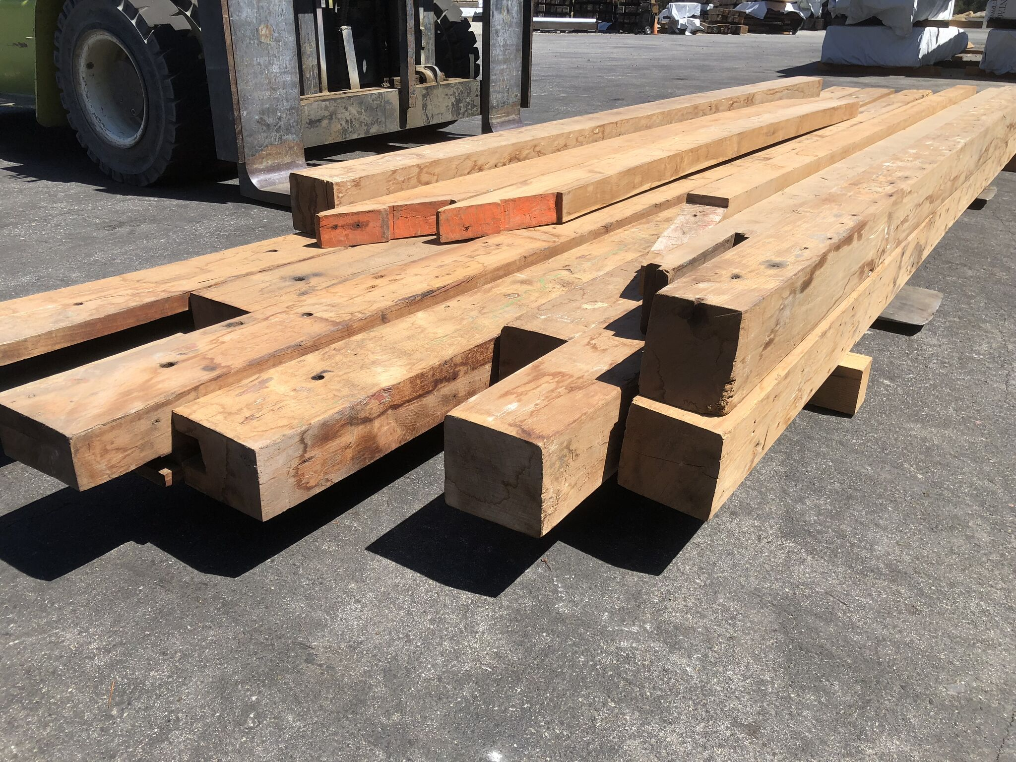 beam01 - Reclaimed Teak Timbers