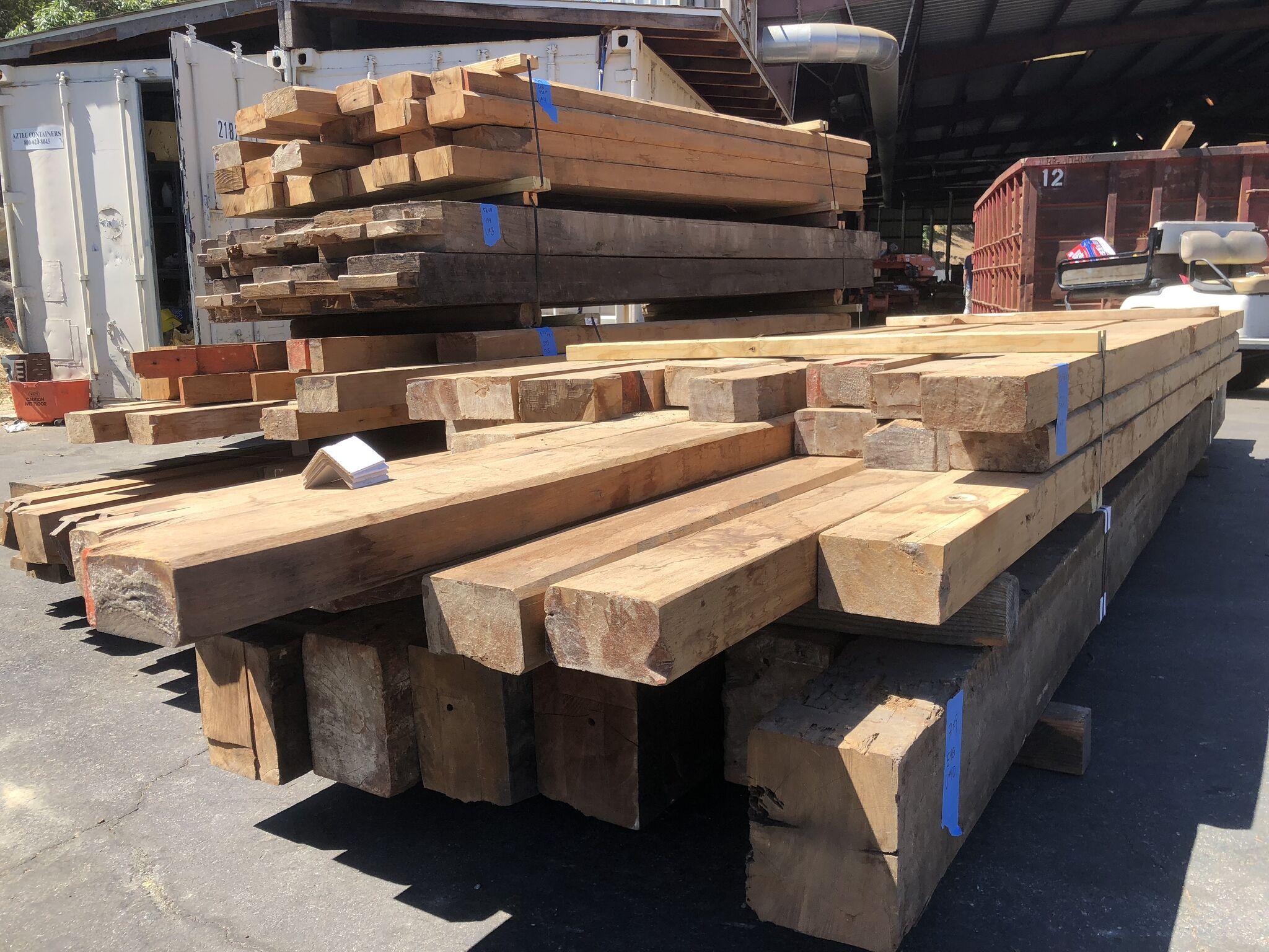 beam02 - Reclaimed Teak Timbers
