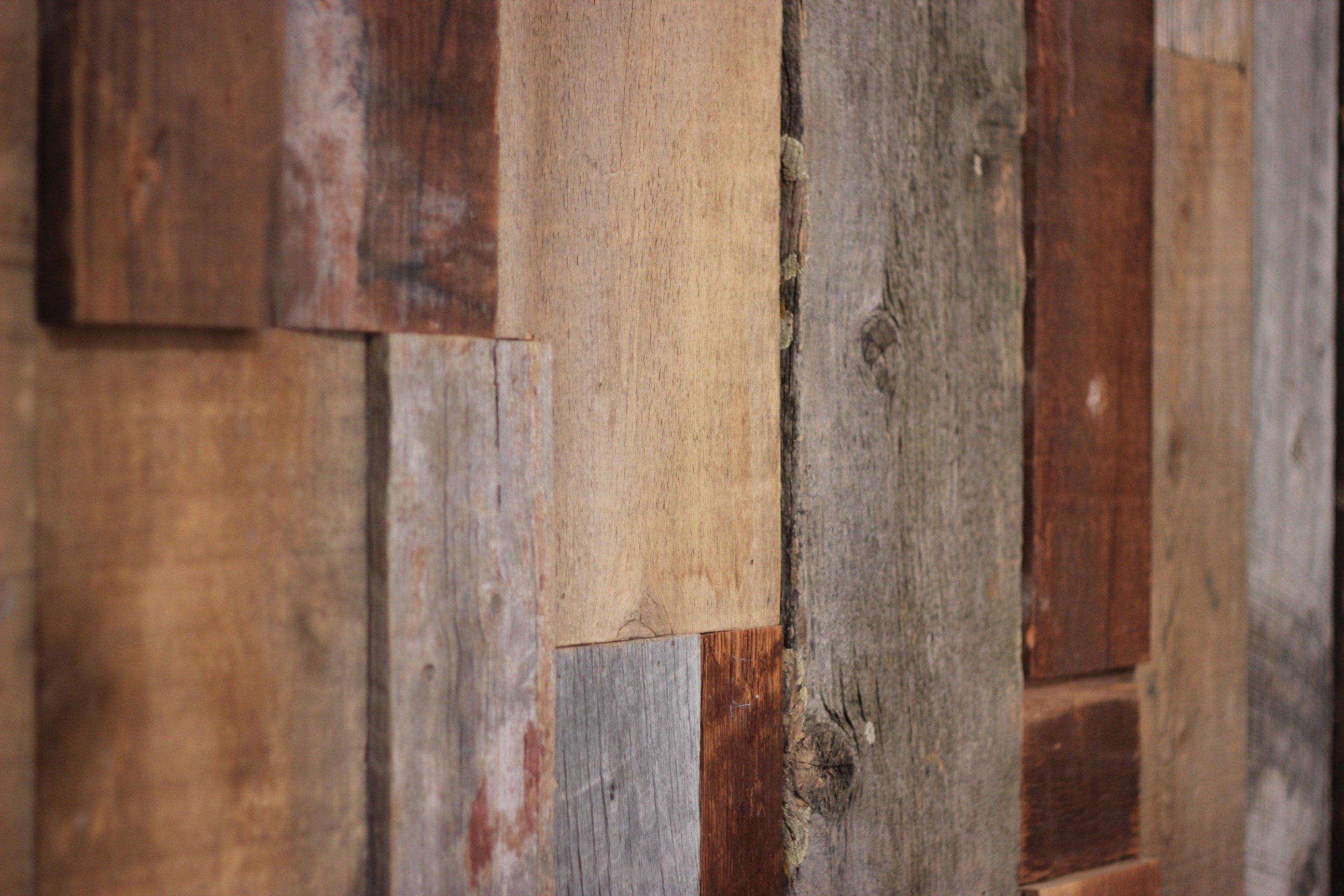 blend siding 02 - Reclaimed Planking Mixed Siding