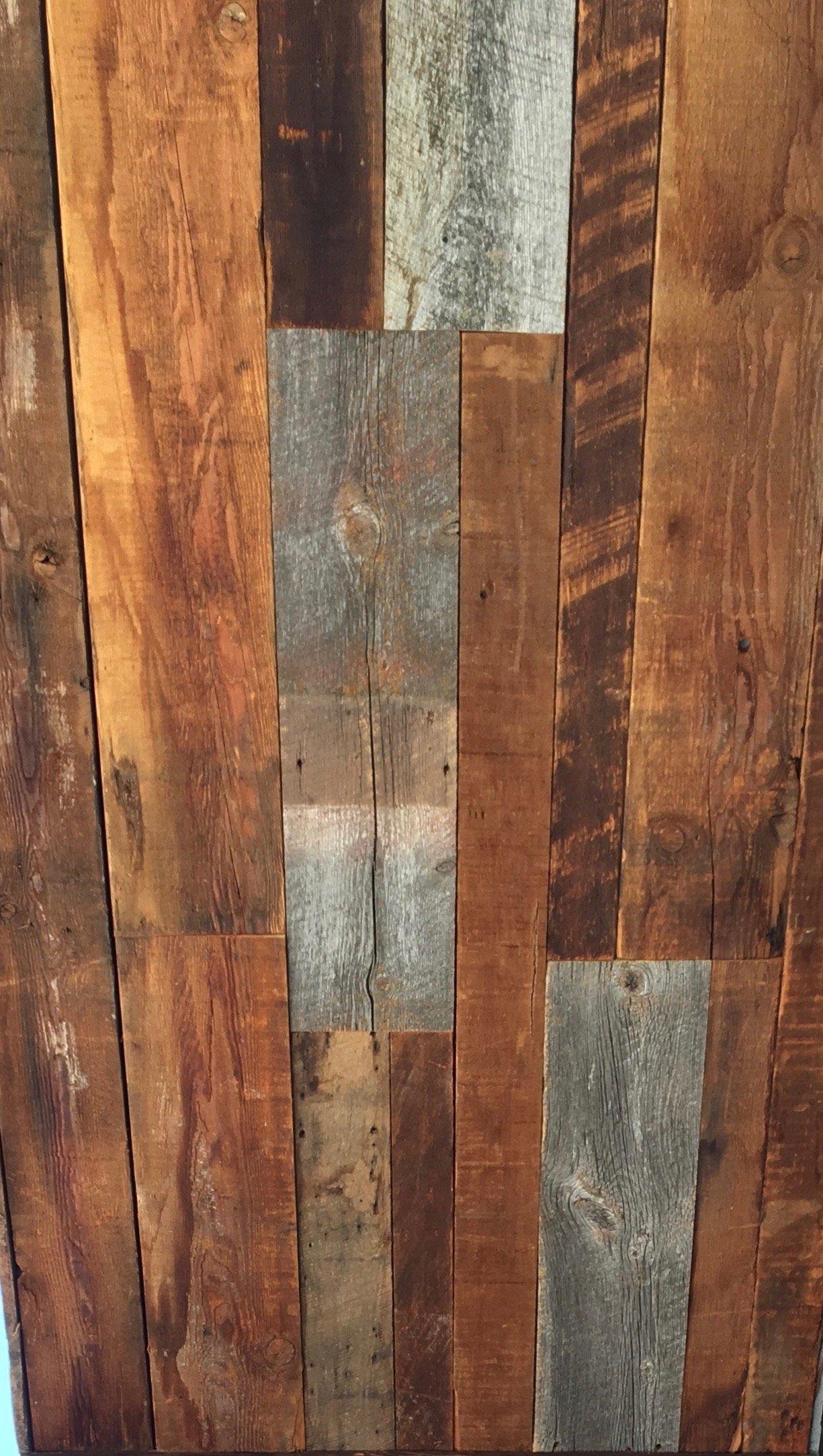 blend siding 06 - Reclaimed Planking Mixed Siding