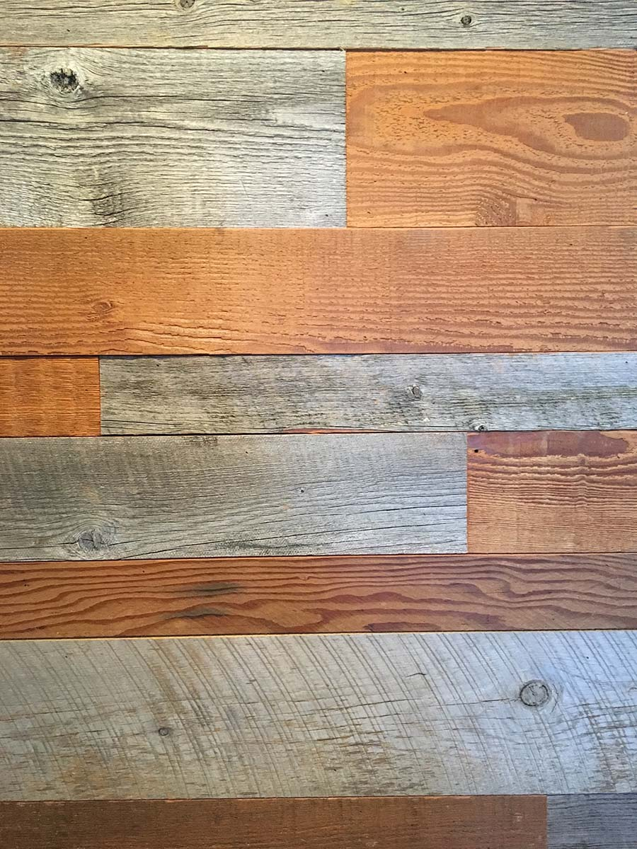 blend siding 08 - Reclaimed Planking Mixed Siding