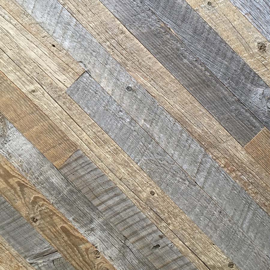 blend siding - Reclaimed Planking Mixed Siding