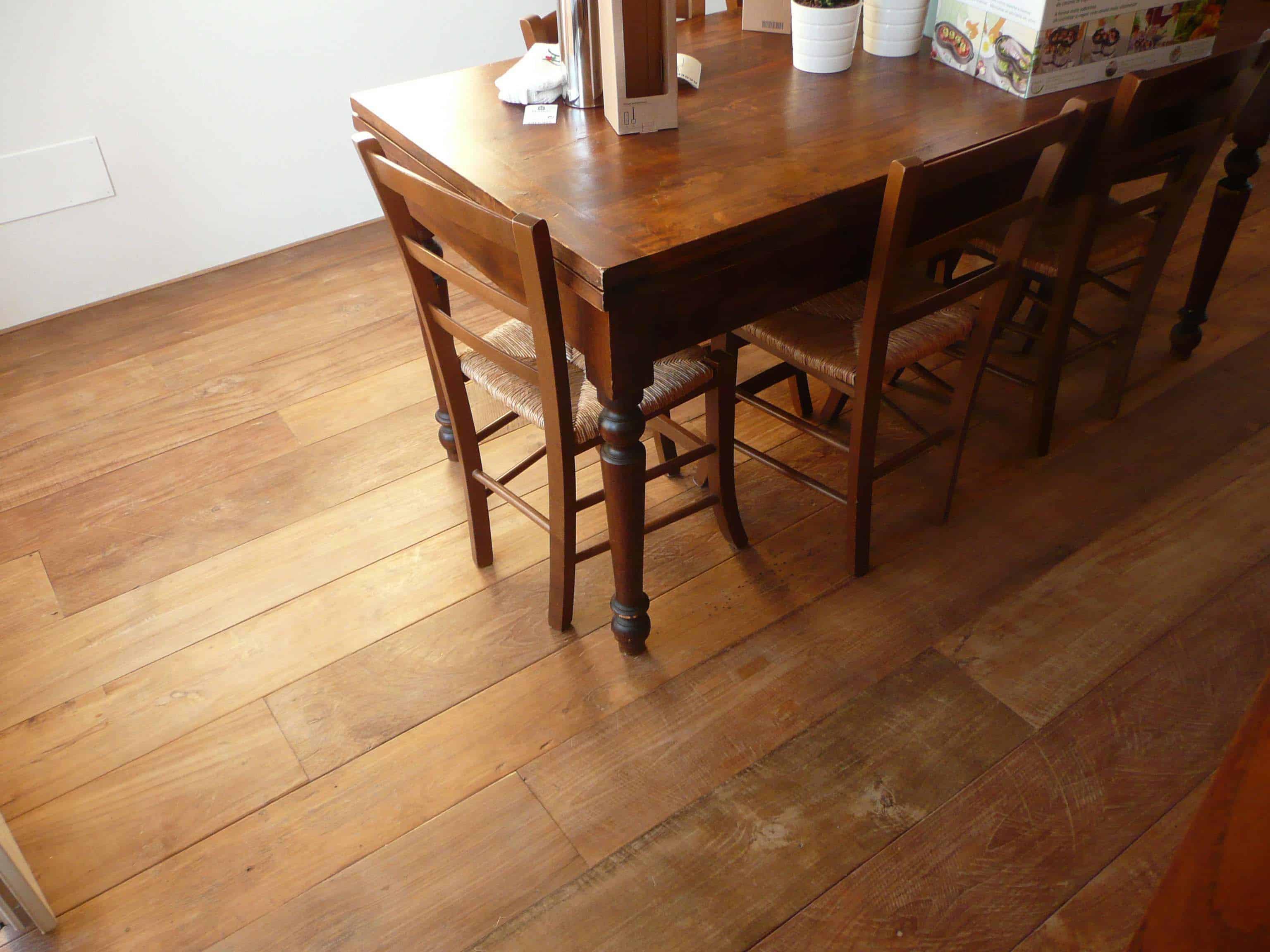 classico patina dining - Reclaimed Teak Flooring