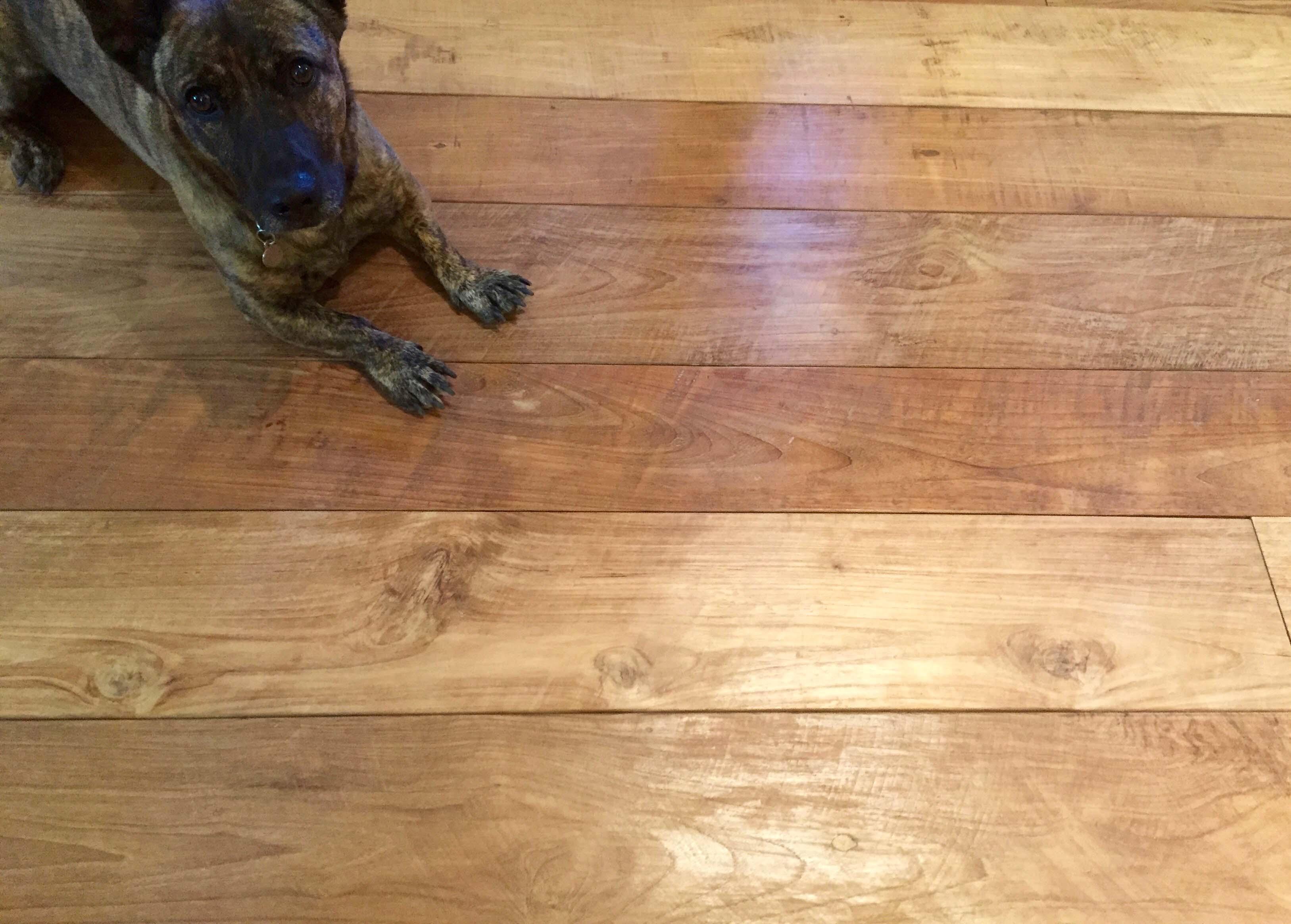 classico patina showroom - Reclaimed Teak Flooring