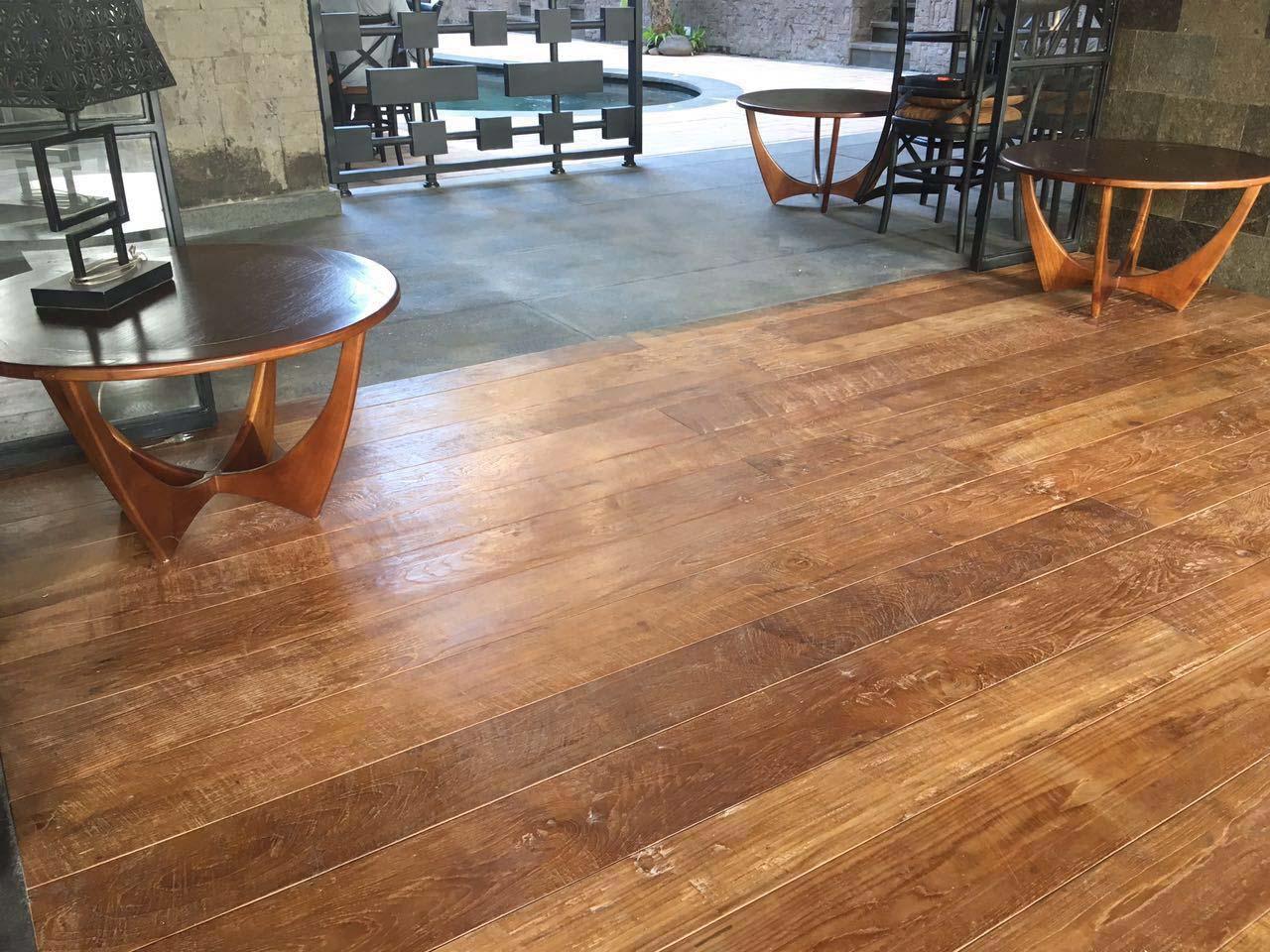 classico patina wax finish2 - Reclaimed Teak Flooring