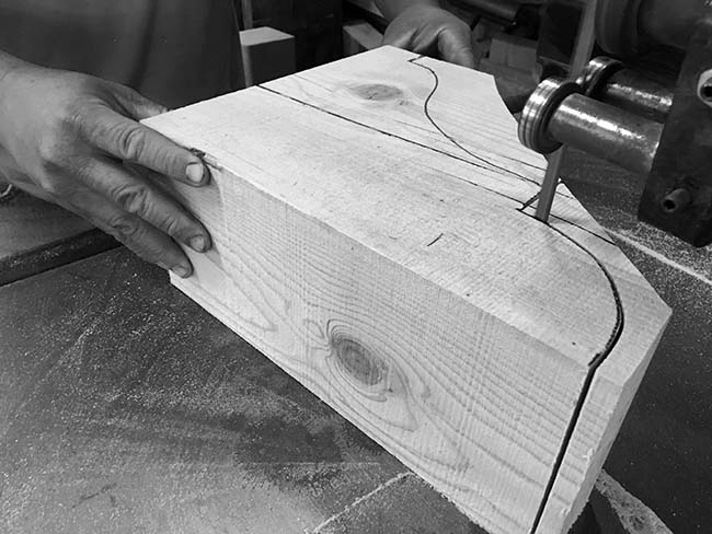 cut corbels mantels06 - Reclaimed Mantel Custom Corbel