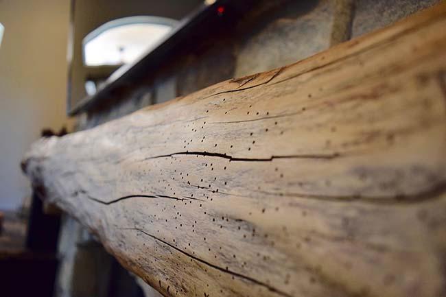 edge hardwood mantels02 - Reclaimed Mantel Barn