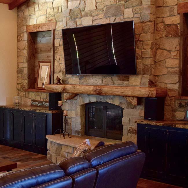 edge hardwood mantels05 - Reclaimed Mantel Barn