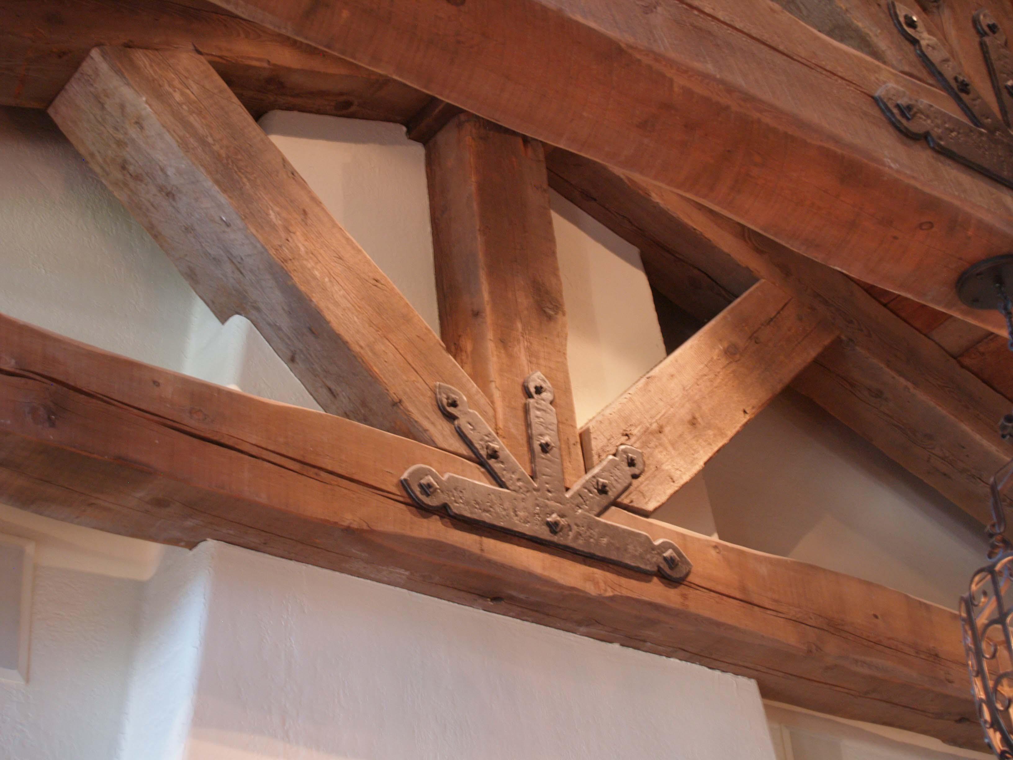 ground douglas beams06 - Vintage Reclaimed Douglas Fir