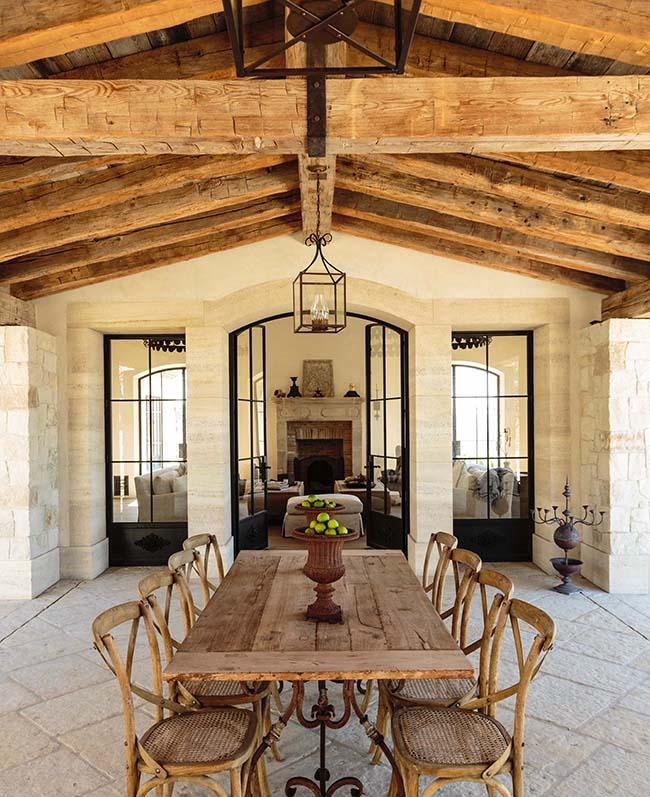 hewn hardwood beams12 - Reclaimed Hardwood Barn Timbers
