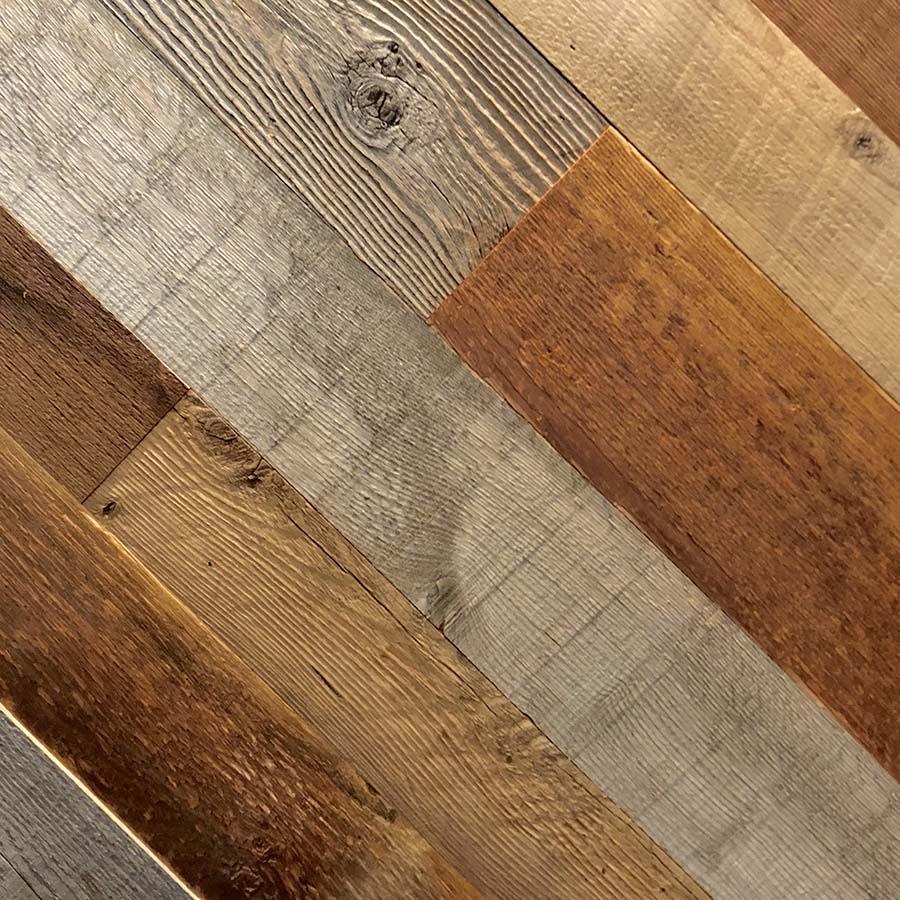 mixed pecies planking - Reclaimed Planking Mixed Siding