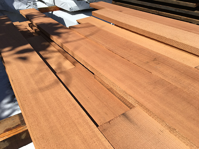 resawn redwood06 - Reclaimed Planking Redwood