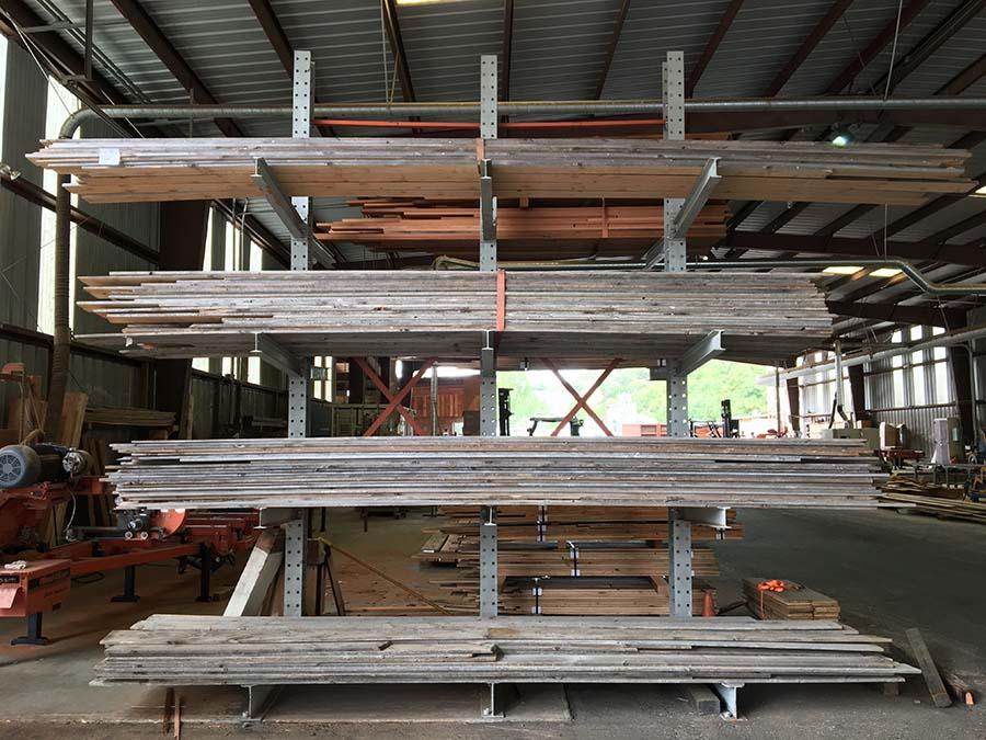 sanded gray board planking 22 - Reclaimed Planking Gray Board