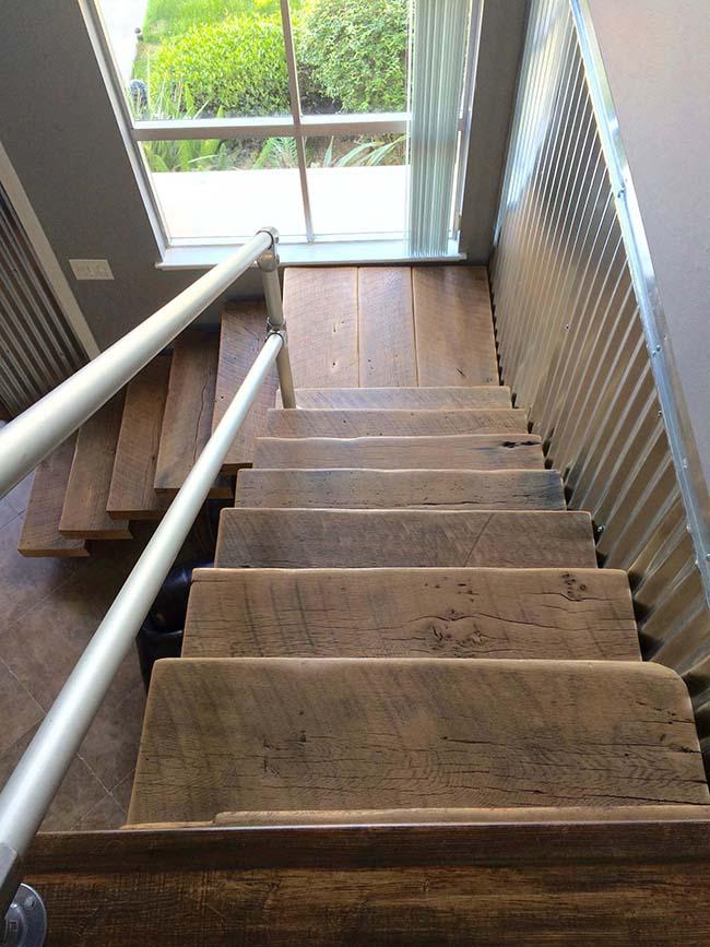 semi oak flooring03 - Reclaimed Barn Oak