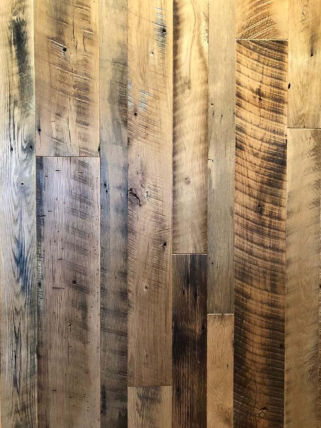 semi oak flooring04 - Reclaimed Barn Oak
