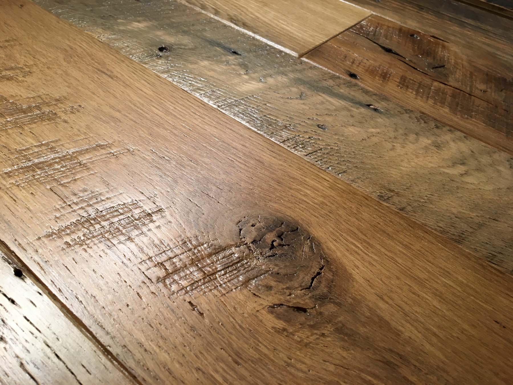 semi oak flooring05 - Reclaimed Barn Oak