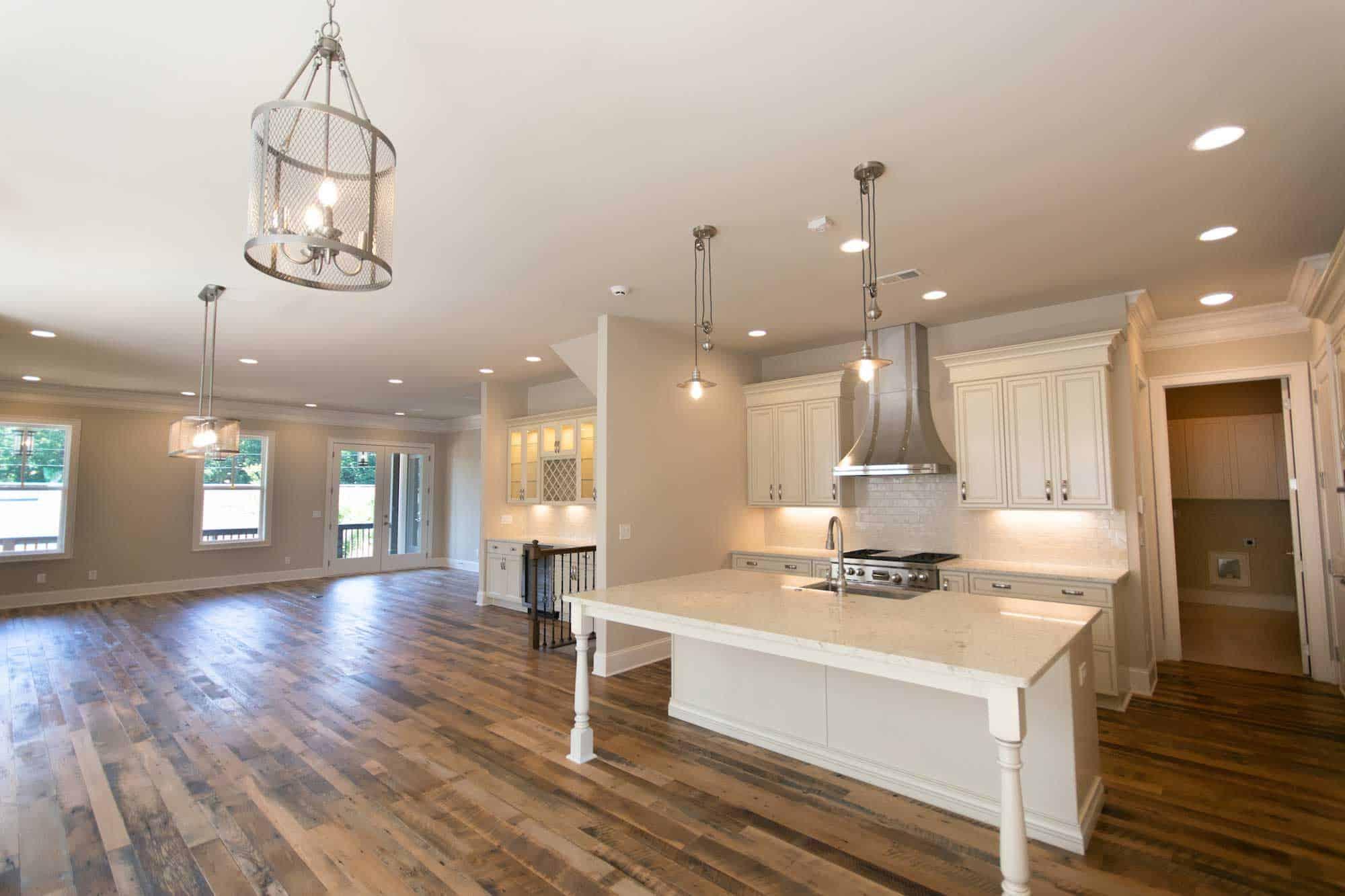 semi surfaced barn oak flooring loba finish - Reclaimed Barn Oak