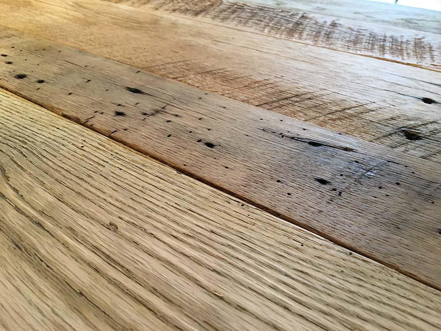 semi surfaced oak03 - Reclaimed Planking Barn Oak