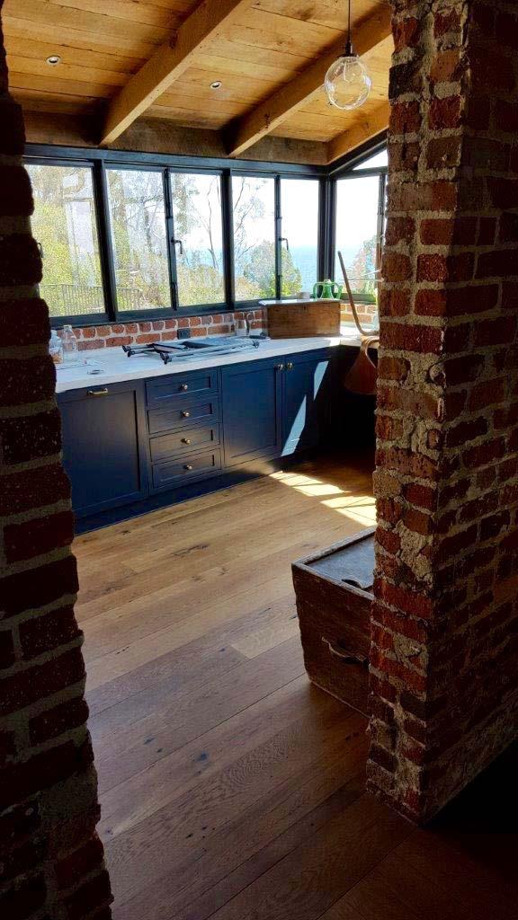 surfaced oak flooring04 - Reclaimed Barn Oak