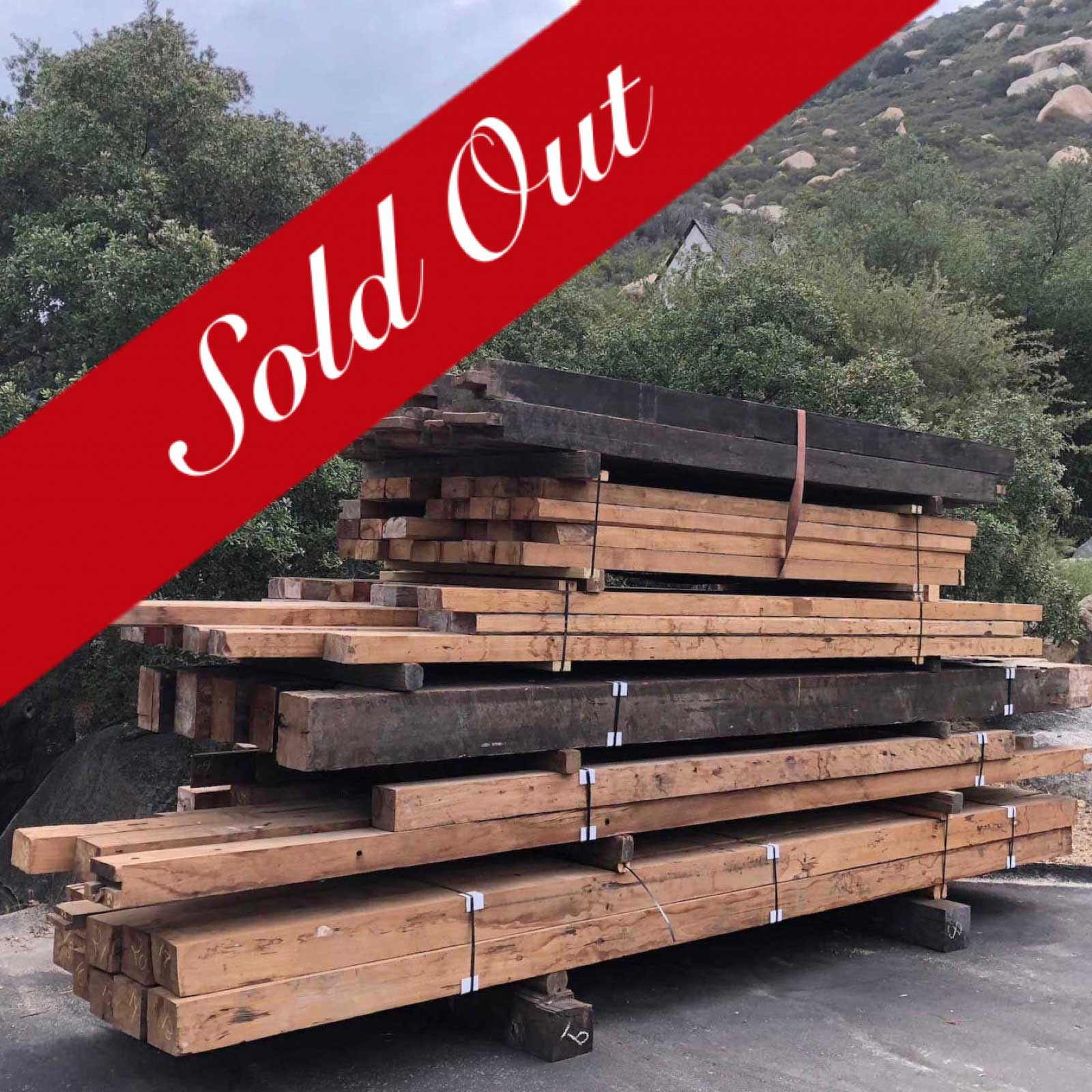 teak timber sold out - Reclaimed Teak Timbers