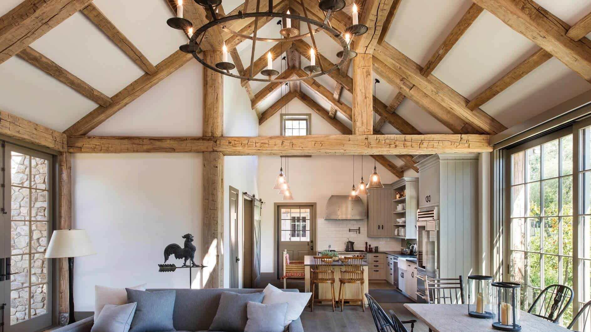timbers lewis06 1 - Reclaimed Faux Beams vs. Solid Beams - Which ones are right for your job?