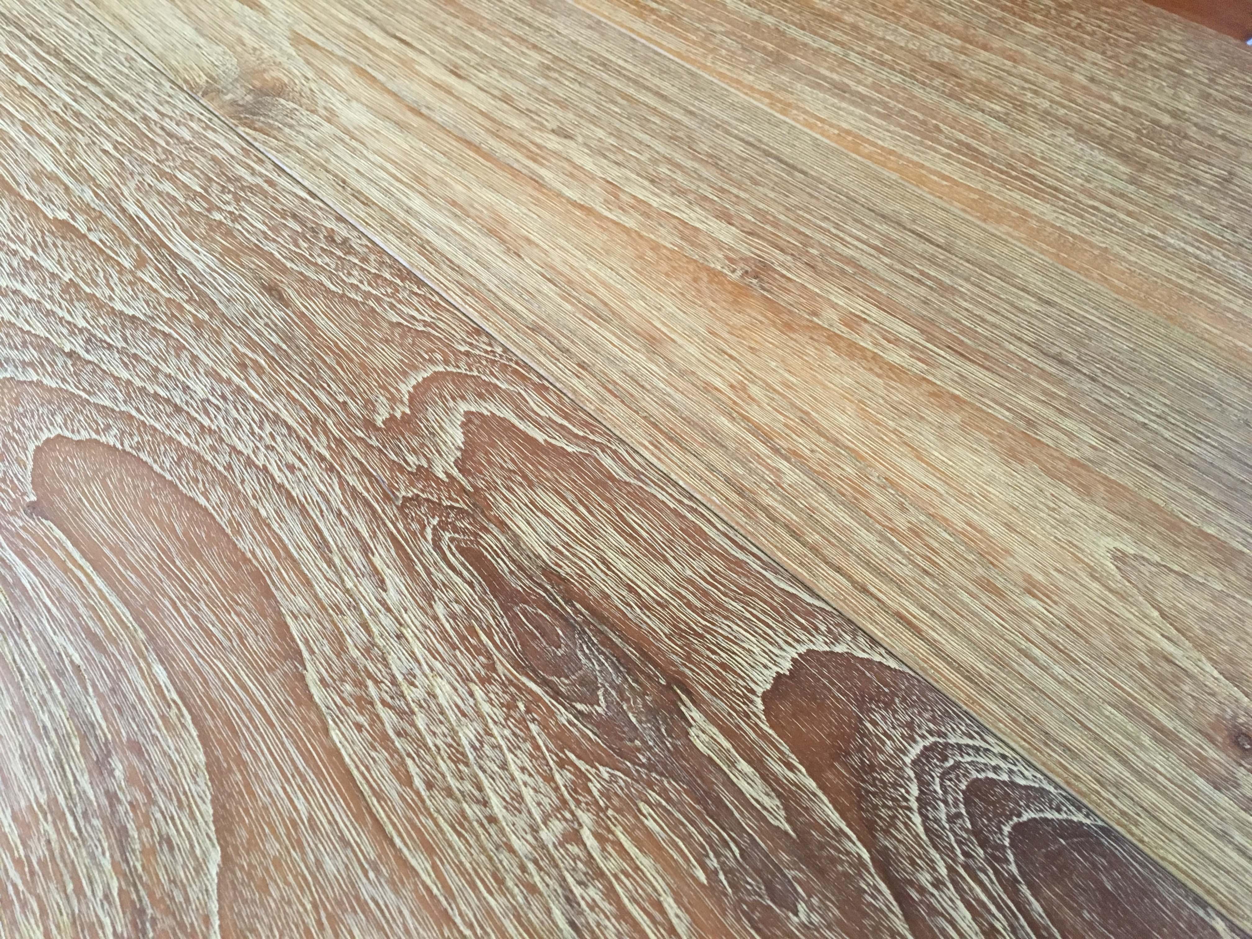 wire brushed flooring - Reclaimed Teak Flooring