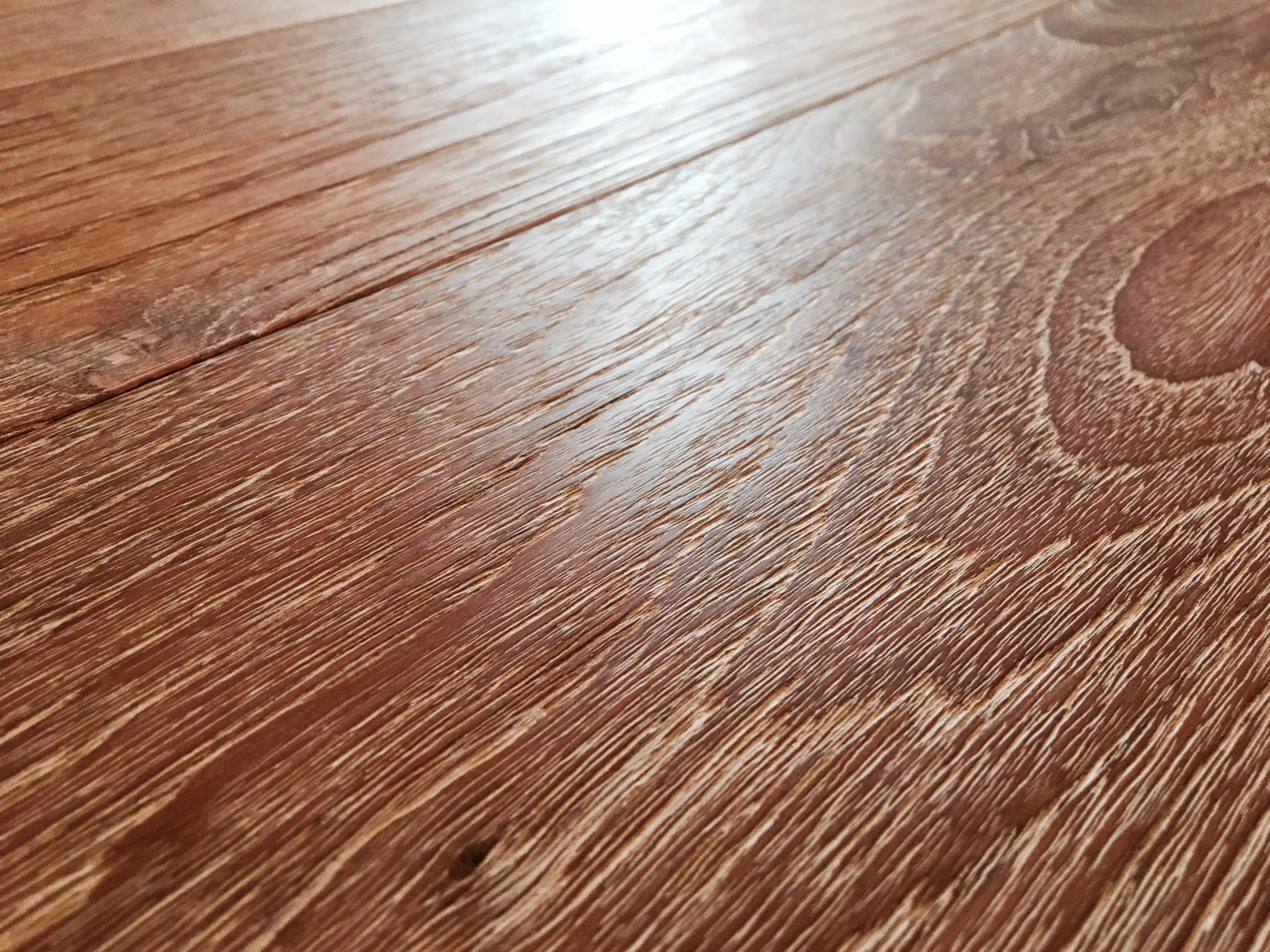 wire brushed teak - Reclaimed Teak Flooring